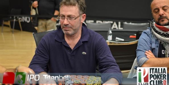 """IPO 19 – Day 3: chipleader Armando Di Giorgio, al final day anche """"cavallo pazzo"""" Theodoridis"""