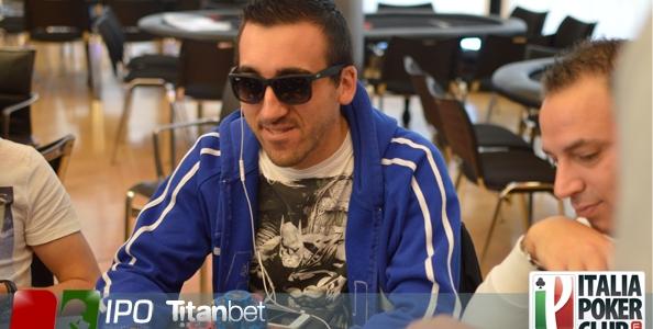 Da 10bb a chipleader di giornata: l'impresa di Dario Rusconi al Day 2 dell'Italian Poker Open
