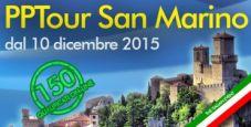 PPTour, a San Marino 150 iscritti dall'online: ogni giorno due pacchetti