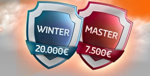 Su Gioco Digitale arriva il Winter Master: in palio un montepremi complessivo di 100.000€!