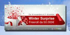 Winter Surprise! Su Titanbet in arrivo un freeroll da 50.000€ garantiti