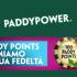 Paddy Power premia la tua fedeltà con i Paddy Points: ogni 100 punti guadagni 1€ gratis per il casinò online!