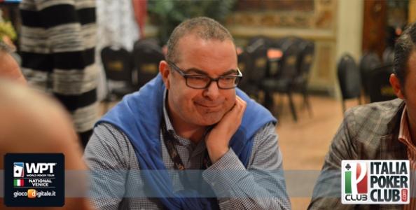 WPT National Venezia – Day1B da 141 entries, Mario Arigò al comando