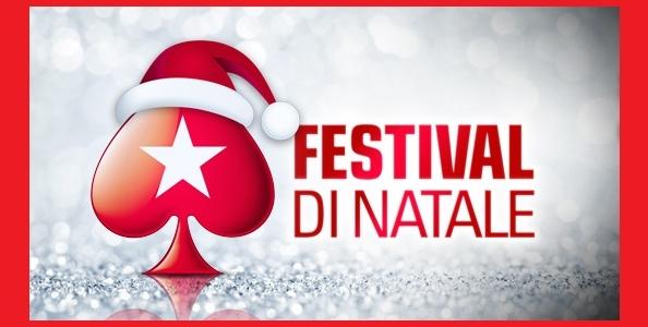 Su PokerStars.it arriva il Festival di Natale: un regalo al giorno per un montepremi di 100.000€!