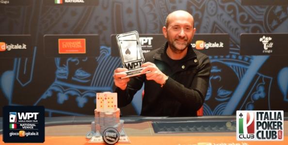 Roberto Ghidini vince il WPT National Venice! Flavio Ferrari Zumbini runner up