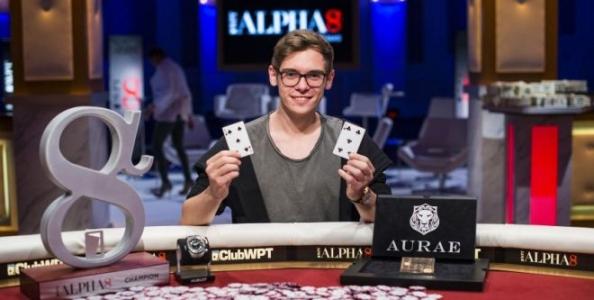 Fedor Holz trionfa nel WPT Alpha 8 di Las Vegas, terzo Daniel Negreanu