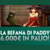 Su Paddy Power Casinò arriva la Classifica della Befana: in palio un montepremi complessivo di 6000€!