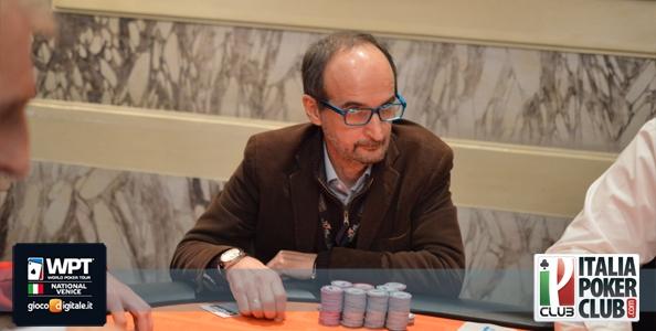 WPT National – Pietro Pira chipleader del day 2!