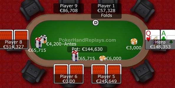Punti di vista MTT – 12 left al 50€ The Big: push o fold quando il top reg chiama lo short?