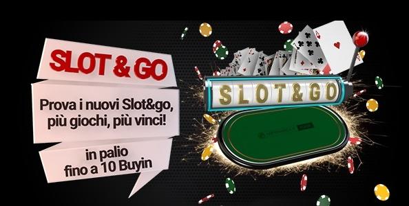 Gioca gli Slot & Go di Lottomatica.it Poker: da oggi al 16 dicembre buy-in rimborsati fino a 190€ bonus!