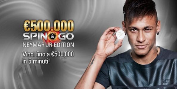 Spin & Go Neymar Jr. Edition su PokerStars: vinci fino a €500.000