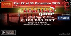 Natale a tutto poker a Venezia: a Ca' Noghera va in scena il The Venetian Game Christmas Edition!