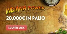 Paddy Power Casinò lancia la classifica Indiana Power: in palio 20.000€ totali!