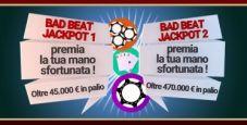 Nuovo Bad Beat Jackpot su Lottomatica.it Poker: 'gallicchio64' perde con scala colore ma vince 26.395€!