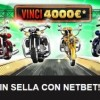 Torna In Sella su NetBet: in palio 4000€ totali con i giochi di casinò!