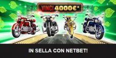 Torna In Sella su NetBet: in palio 4000€ totali con i giochi di casinò!