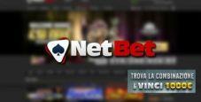 Indovina la combinazione su NetBet Casinò: in palio un premio di 1000€ in fun bonus!