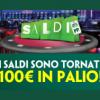Su Paddy Power Casinò tornano i Saldi: rimborso sulle perdite del 25% fino a un massimo di 100€!