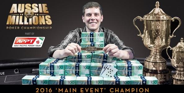 Aussie Millions – Main Event: trionfa il canadese Ari Engel dopo un epico heads-up contro Tony Dunst