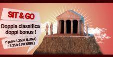 Su Lottomatica.it classifiche bisettimanali per i sit&go, montepremi complessivo di 6500€!