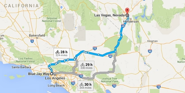 Bill Perkins sfida Dan Bilzerian: in bici da Los Angeles a Las Vegas per 1.200.000$