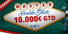 Su PokerYes il Master Double Stack torna da 10.000€ garantiti!