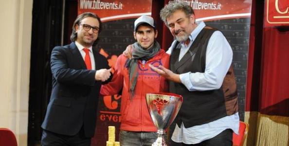 La Tilt Poker Cup è blues! Dang Saleh trionfa a Sanremo e incassa 30.000€