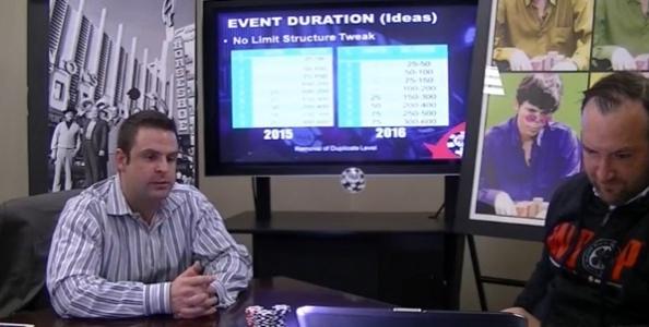Le WSOP anticipano lo start dei tornei al mattino e annunciano altre novità per l'edizione 2016