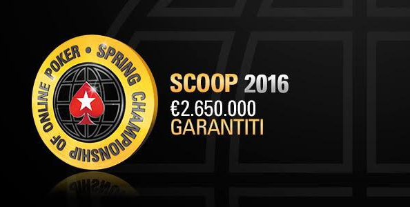 "Main Event SCOOP day 1 – Comanda ""troy118"", si lotta per un premio da 100.000 €!"
