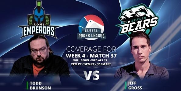 GPL week 4 – Treccarichi guadagna un punto solo, stasera debutta Todd Brunson contro Jeff Gross