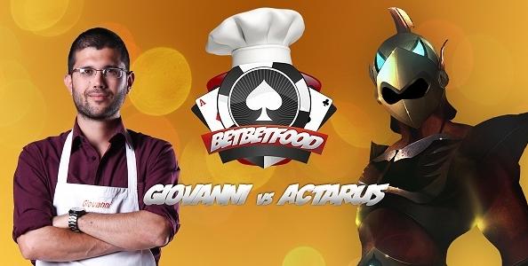 Bet Bet Food! Giovanni Gaetani e 'Actaru5' si sfidano al tavolo… e ai fornelli!