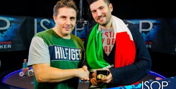 Alessandro Meoni vince 45.000€ al Main Event delle ISOP 2016 e il titolo di Player of the Year