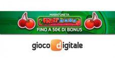 Maratoneta Fruit Shop: costruisci il tuo bonus settimanale nel casinò di Gioco Digitale!