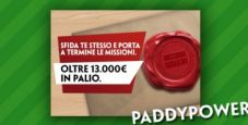 Missioni di maggio su Paddy Power: in palio oltre 13.000€ in token e bonus cash!