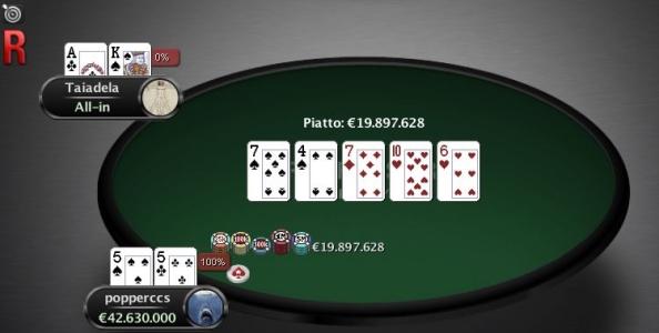 "Domenicali PokerStars Half Price – ""popperccs"" vince lo Special, ""Sckjzzato83"" l'high roller!"