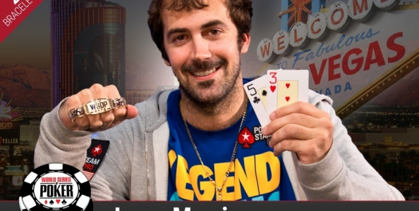 WSOP – Incredibile secondo braccialetto per Jason Mercier all'H.O.R.S.E. Championship! A domani l'Heads Up dell'evento #23