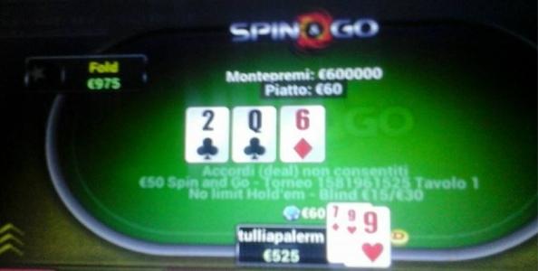 """""""Pensavo di giocare per 600, al massimo 6.000€…"""" Parla la runner-up dello Spin&go da 600.000€"""