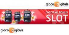 Per una settimana fino a 15€ al giorno in regalo alle slot di Gioco Digitale!