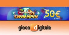 Maratoneta Twin Spin: costruisci il tuo bonus settimanale nel casinò di Gioco Digitale!