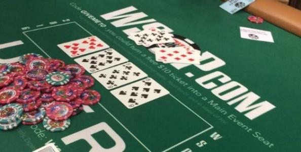WSOP – Side action: doppio poker ad un tavolo cash PLO 5/10$!