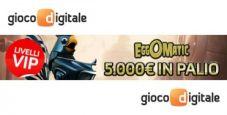 Classifiche vip Eggomatic su Gioco Digitale: in palio 5.000€!