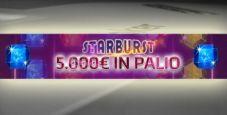 Classifiche vip Starbust su Gioco Digitale: in palio 5.000€!