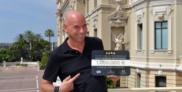 Il Big One for One Drop da un milione ritorna a ottobre a Monte Carlo