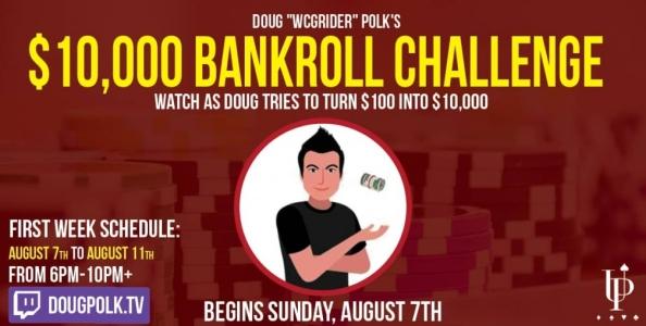 "Doug Polk si lancia nel 'Bankroll Challenge': ""In un mese trasformerò $100 in $10.000!"""