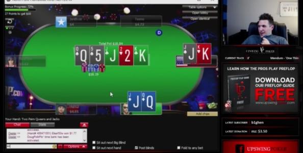 Doug Polk gioca una sessione di 19 ore in diretta Twitch ai microlimiti… e chiude in negativo!