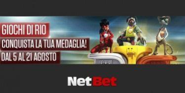 Le Olimpiadi si giocano anche su Netbet: 3000€ in palio!
