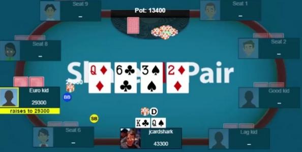 Jonathan Little contro un check-push al turn: fold o call?