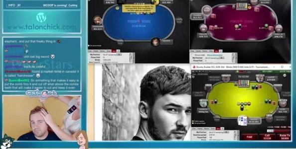 [Video] Pro di PokerStars taglia i capelli al marito mentre gioca in diretta streaming