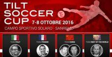 Non solo poker al WPT National di Sanremo: i giocatori si sfidano nella Tilt Soccer Cup