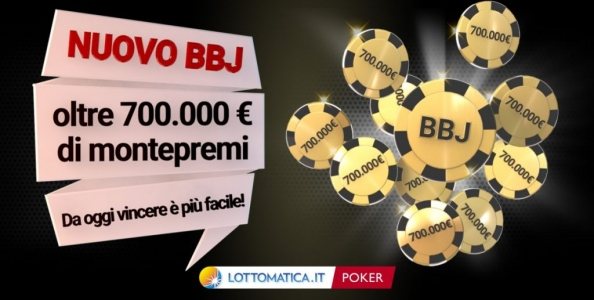Nuovo Bad Beat Jackpot su Lottomatica.it Poker! Ecco cosa cambia